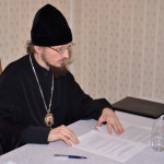 Под председательством Преосвященнейшего Вениамина состоялось Первое отчётное годичное собрание информационного отдела Борисовской епархии