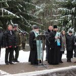 В день памяти воинов – интернационалистов в Марьина Горке совершили литию по погибшим солдатам
