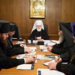 Епископ Вениамин принял участие в заседании Архиерейского совета Минской митрополии