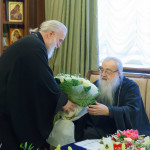 Митрополит Павел и архиереи из Беларуси и России поздравили митрополита Филарета с днем рождения
