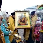 В Воскресенский собор прибыла чудотворная икона Божией Матери «Всецарица»