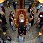 Епископ Борисовский и Марьиногорский Вениамин совершил великое повечерие с чтением Великого канона преподобного Андрея Критского в Воскресенском соборе