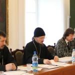 Под Председательством епископа Вениамина состоялось заседание Синодального отдела религиозного образования и катехизации
