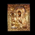 В Борисовской епархии будет находиться Афонская икона Божией Матери «Троеручица»
