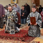 В городе Березино епископ Борисовский и Марьиногорский Вениамин совершил Литургию Преждеосвященных Даров