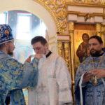 В седмицу 5-ю Великого поста, Преосвященный Вениамин совершил иерейскую хиротонию диакона Иоанна Тютюнникова