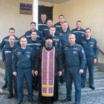 Священник встретился с Жодинскими спасателями