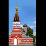Начались работы по восстановлению колокольни, входящей в архитектурный ансамбль кафедрального собора Воскресения Христова города Борисова