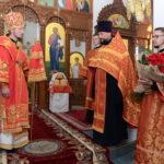 Во вторник Светлой седмицы епископ Вениамин совершил Пасхальную великую вечерню в Воскресенском соборе города Борисова