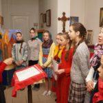 Приходской Пасхальный праздник состоялся в кафедральном соборе в честь святого благоверного князя Александра Невского в городе Марьина Горка