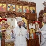 В праздник Вознесения Господня епископ Вениамин возглавил богослужение в кафедральном соборе Воскресения Христова города Борисова