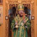 В день обретения честных мощей преподобного Сергия Радонежского епископ Вениамин возглавил богослужения в Христо-Рождественском храме посёлка Дружный