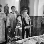 Чин отпевания новопреставленной рабы Божией Анны возглавил епископ Вениамин