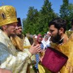 В день памяти святого равноапостольного великого князя Владимира епископ Вениамин совершил Литургию в одноименном храме в деревне Засовье