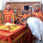 Престольный праздник отметил нижний придел Христо-Рождественского храма в Борисове — святой мученицы Иулии Карфагенской