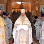В день памяти священномученика Иоанна Воронца епископ Вениамин совершил Литургию в Георгиевском храме г.п. Смиловичи