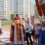 Первый престольный праздник храма святых благоверных князей Бориса и Глеба города Борисова