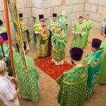 Престольный праздник отметил храм в честь преподобного Серафима Саровского в г. п. Свислочь