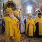 Канун торжеств посвящённых святителю Георгию Могилевскому (Конисскому) в Могилёве