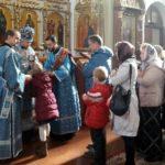 В неделю 14-ю по Пятидесятнице епископ Вениамин совершил Литургию в Благовещенском монастыре