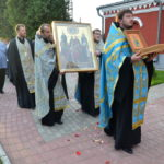 В пределы Борисовской епархии принесён ковчег с частицей древа креста, на котором распяли апостола Петра