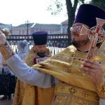 В день памяти перенесения мощей благоверного князя Александра Невского, Преосвященнейший Вениамин совершил Литургию в Воскресенском кафедральном соборе