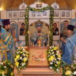 В праздник Рождества Пресвятой Богородицы престольный праздник отметил одноимённый храм в деревне Сергеевичи