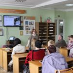 Состоялась встреча библиотекарей с автором книги «Православные святыни Беларуси»