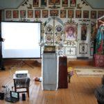 Первое занятие в Воскресной школе для взрослых в Зеленом Бору