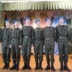 Протоиерей Андрей Шабаловский напутствовал ребят, посещающих военно-патриотический факультатив