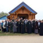В Смолевичском районе освящён храм в честь Благовещения Пресвятой Богородицы