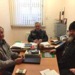 Священник Червенского благочиния совместно с начальником ОГАИ провёл беседу с водителями