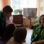Для детей проведён урок, посвященный празднику «Покрова Пресвятой Богородицы» и «Дню Матери»