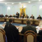 Епископ Борисовский и Марьиногорский Вениамин принял участие в работе заседания координационного совета по разработке и реализации совместных программ сотрудничества между органами государственного управления и Белорусской Православной Церковью