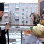 В день почитания святителя Спиридона Тримифунтского, Преосвященнейший Вениамин совершил Литургию в Смолевичах