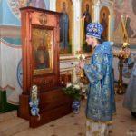 В день памяти местночтимого Логойского образа иконы Божией Матери, именуемой «Знамение» епископ Вениамин возглавит богослужения в Никольском храме Логойска