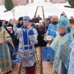 Престольный праздник отметил Александро-Невский кафедральный собор города Марьина Горка