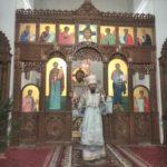 Епископ Борисовский и Марьиногорский Вениамин совершил Божественную литургию в Воскресенском соборе