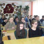 В рамках традиционных Рождественских встреч священник посетил ГУО «Гимназия №1 г. Жодино»