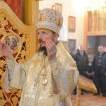 В праздник Обрезания Господня Преосвященнейший Вениамин совершил Литургию в Михайловском приходе аг. Гребенка