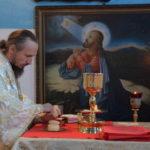 Преосвященнейший Вениамин возглавил Литургию в Никольском храме города Червеня