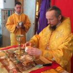 В Неделю о мытаре и фарисее епископ Вениамин совершил Литургию в Никольском храме деревни Пережир