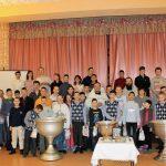 Соборное крещение 40 детей во вспомогательной школе-интернате г.п. Руденск