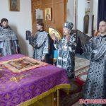 В среду первой седмицы Великого поста, епископ Вениамин совершил Литургию Преждеосвященных Даров в Воскресенском кафедральном соборе