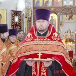 В Борисовском Воскресенском кафедральном соборе епископ Вениамин совершил Вечерню