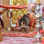 В праздник иконы Божией Матери «Живоносный Источник» епископ Вениамин совершил Литургию в Никольском храме Логойске