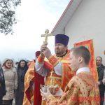 В Воскресенском храме посёлка Усяж Преосвященнейший Вениамин совершил Литургию