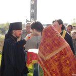 В день рождения страстотерпца Николай II епископ Вениамин совершил Литургию в Свято-Ксениевском монастыре