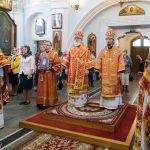 Преосвященнейший Вениамин принял участие в торжествах в честь дня памяти святых равноапостольных Мефодия и Кирилла и Дня славянской письменности и культуры