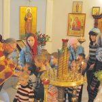 Малыши из Жодинского детского дома побывали в Михайловском приходе